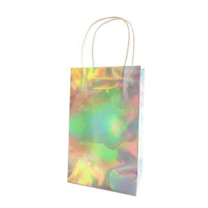 Iridescent luxurious party bags x 8 - Paper party bags - Fabulous Partyware