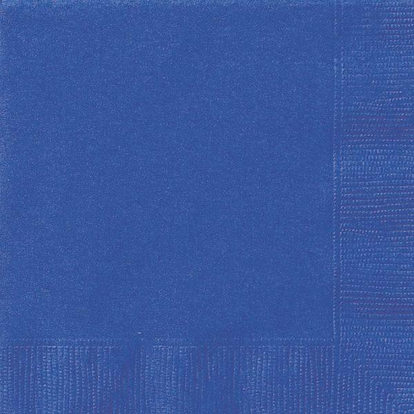 Royal Blue Paper Napkins x 20 - Blue party - Fabulous Partyware