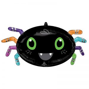 Halloween Large Spider Foil Balloon - INFLATED - Halloween - Fabulous Partyware